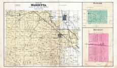 Marietta, Bangor, Bromley, Marshall County 1885